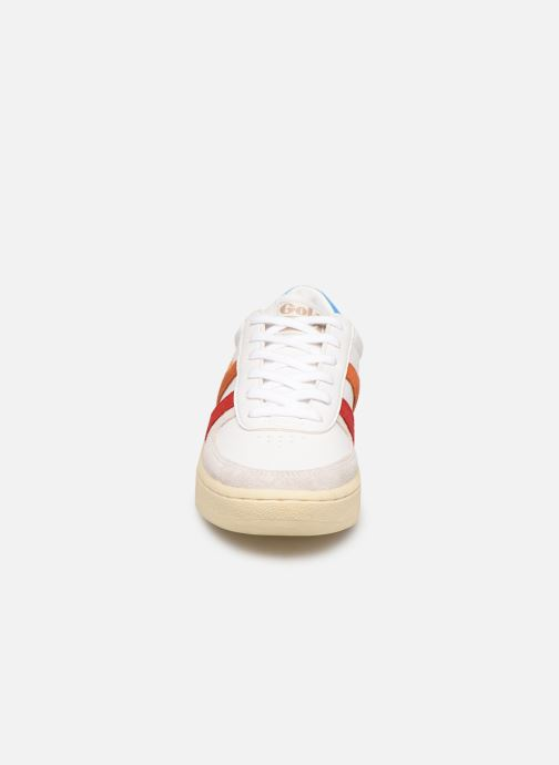 Baskets Gola Grandslam Trident Blanc vue portées chaussures