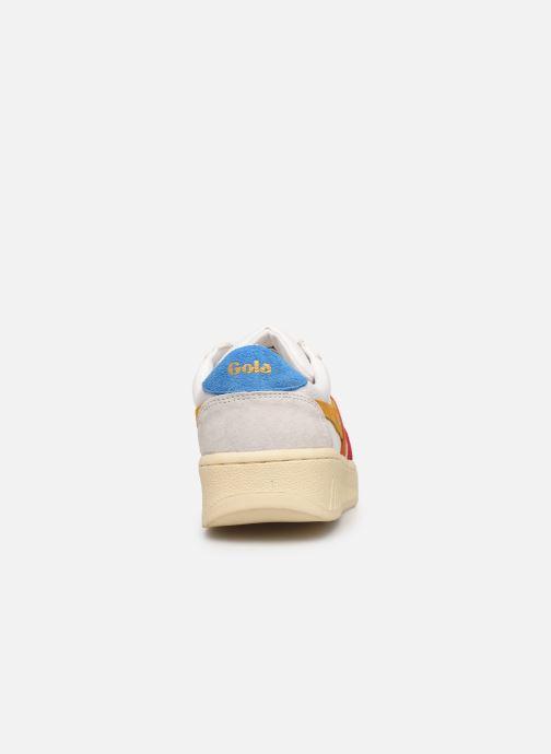 Baskets Gola Grandslam Trident Blanc vue droite