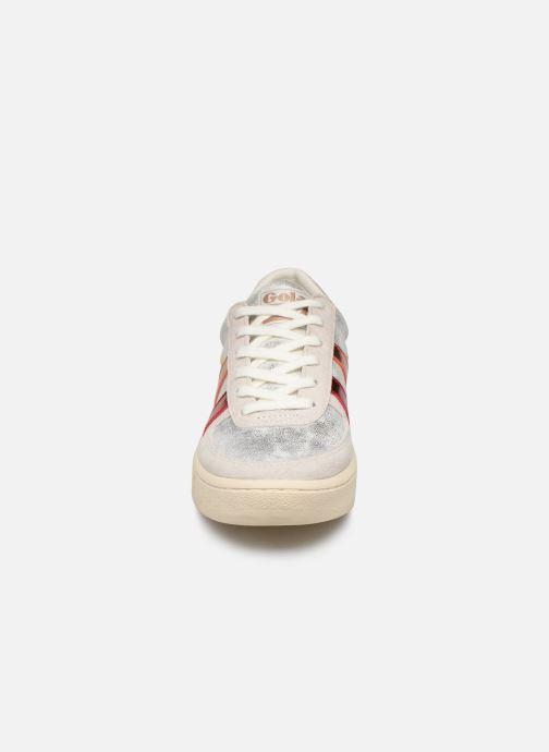 Baskets Gola Grandslam Shimmer Flare Gris vue portées chaussures