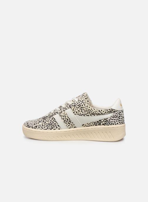 Sneakers Gola Grandslam Cheetah Wit voorkant