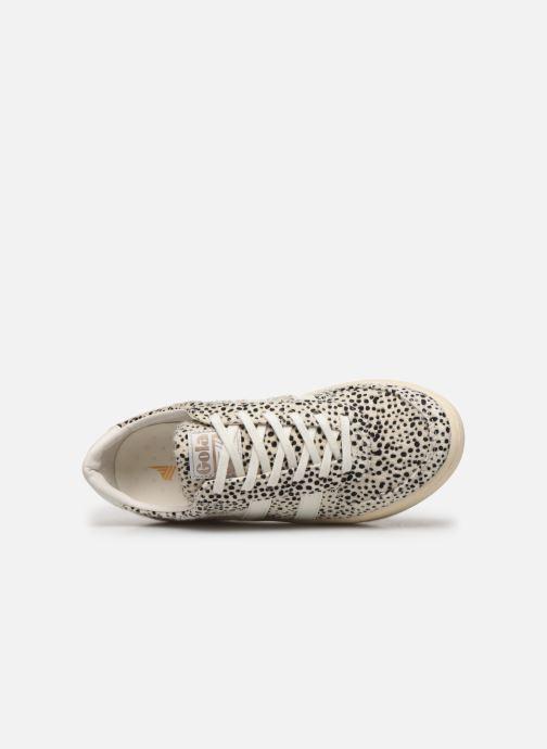 Sneakers Gola Grandslam Cheetah Wit links