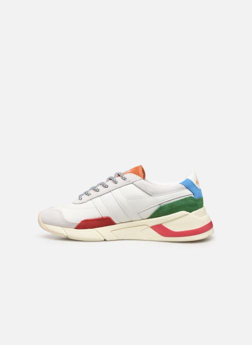 Sneakers Gola Eclipse Trident Bianco immagine frontale