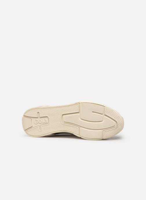 Sneakers Gola Eclipse Trident Bianco immagine dall'alto
