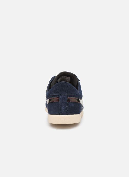 Sneakers Gola Bullet Flash Blauw rechts