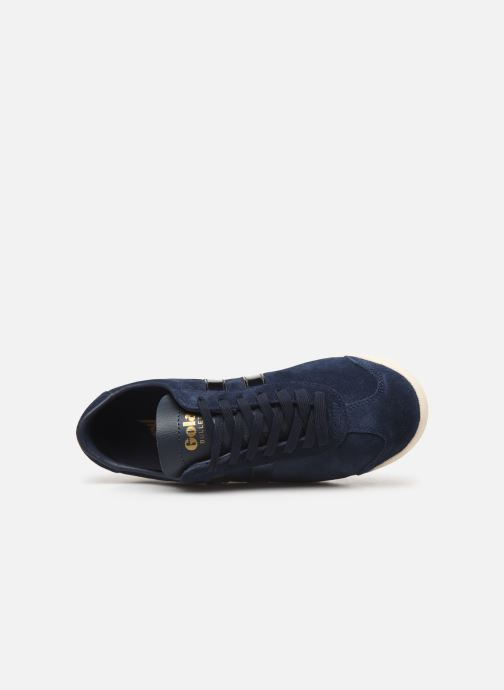 Sneaker Gola Bullet Flash blau ansicht von links