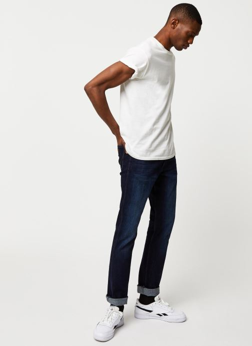 Vêtements Wrangler 11MWZ Bleu vue bas / vue portée sac