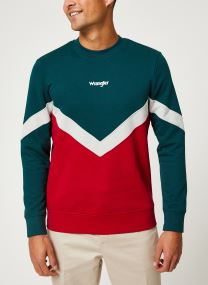 Sweatshirt - WRANGLER BOX SWEAT