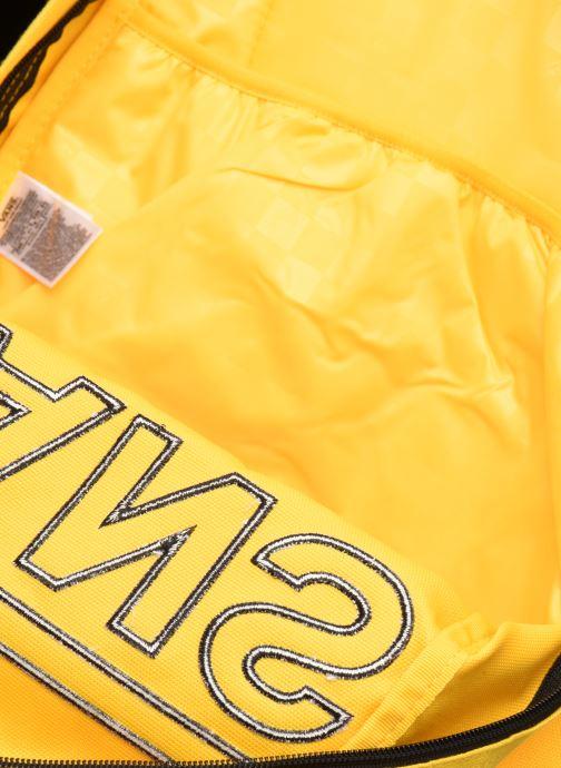 Rucksäcke Vans OLD SKOOL III gelb ansicht von hinten