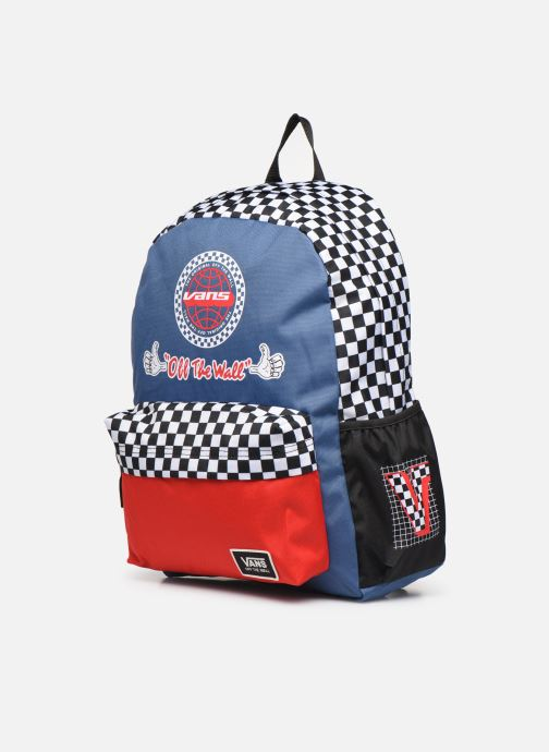Zaini Vans BMX BACKPACK Multicolore modello indossato