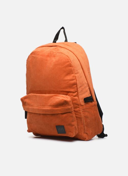 Zaini Vans DEANA Arancione modello indossato