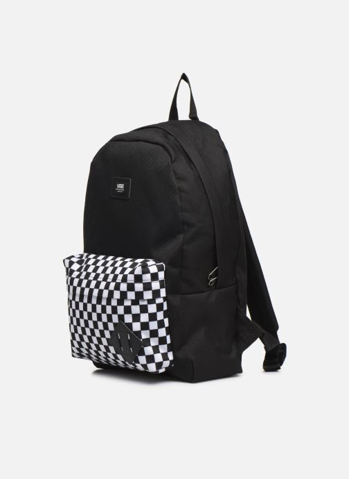 Mochilas Vans KID NEW SKOOL BACKPACK BOY Negro vista del modelo
