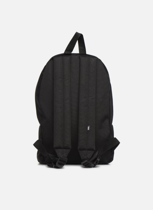 Mochilas Vans KID NEW SKOOL BACKPACK BOY Negro vista de frente