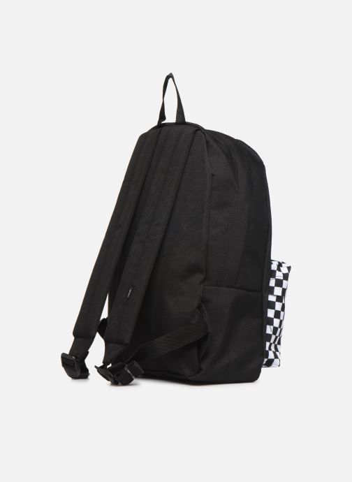 Mochilas Vans KID NEW SKOOL BACKPACK BOY Negro vista lateral derecha