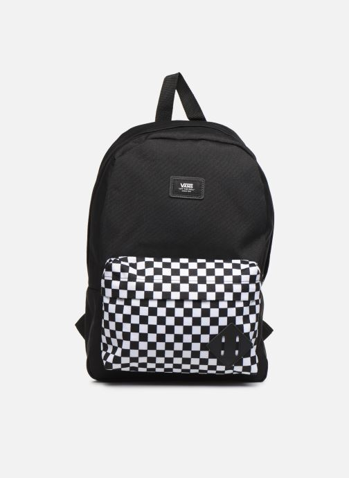 1ad4765c69888 Rucksacks Vans KID NEW SKOOL BACKPACK BOY Black detailed view/ Pair view