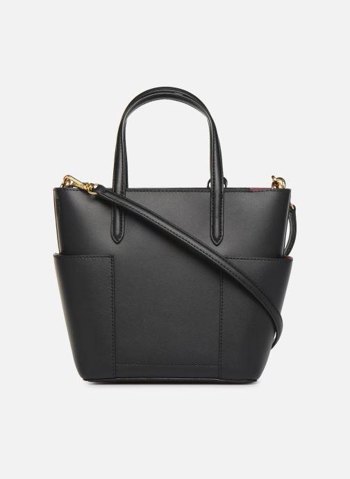 Handtaschen Lauren Ralph Lauren CARLYLE TOTE MINI schwarz ansicht von vorne