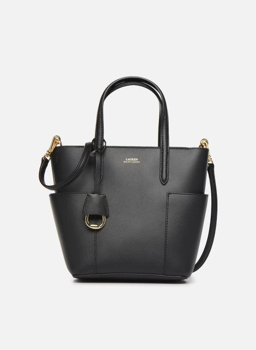 Handtaschen Lauren Ralph Lauren CARLYLE TOTE MINI schwarz detaillierte ansicht/modell