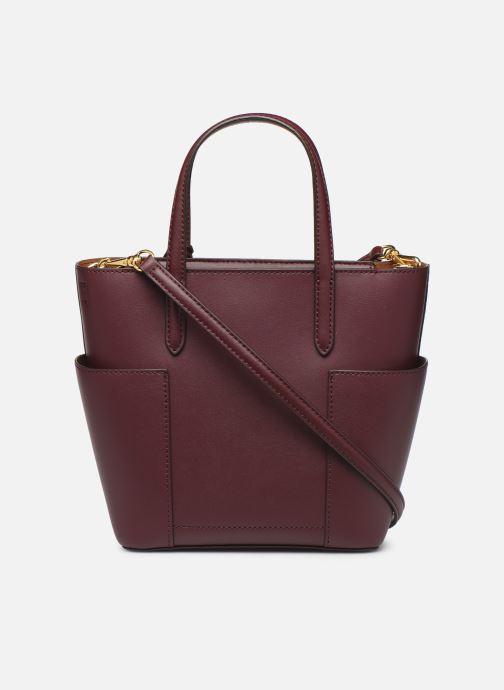Handtassen Lauren Ralph Lauren CARLYLE TOTE MINI Bordeaux voorkant