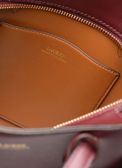 Handtassen Lauren Ralph Lauren CARLYLE TOTE MINI Bordeaux achterkant