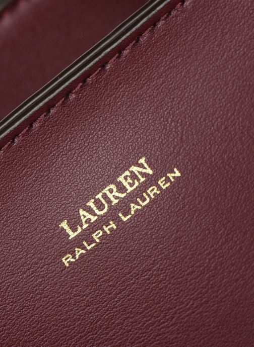 Handtassen Lauren Ralph Lauren CARLYLE TOTE MINI Bordeaux links