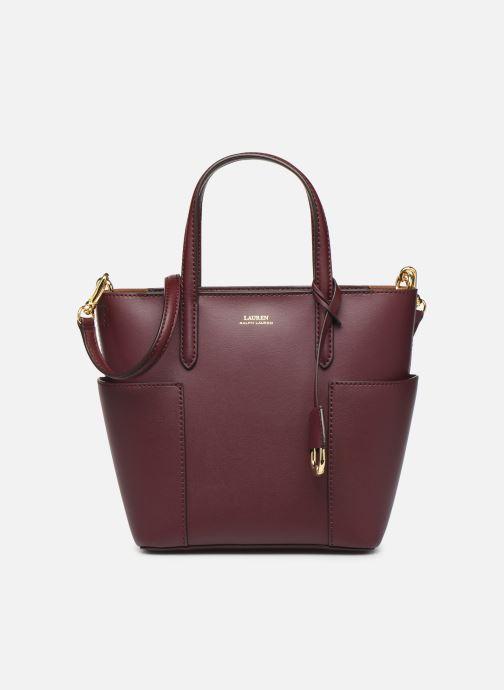 Handtassen Lauren Ralph Lauren CARLYLE TOTE MINI Bordeaux detail