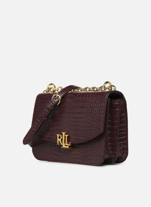 Sacs à main Lauren Ralph Lauren MADISON 22-CROSSBODY-MEDIUM Bordeaux vue portées chaussures