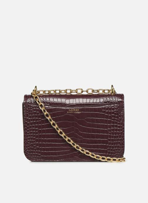 Handtaschen Lauren Ralph Lauren MADISON 22-CROSSBODY-MEDIUM weinrot ansicht von vorne