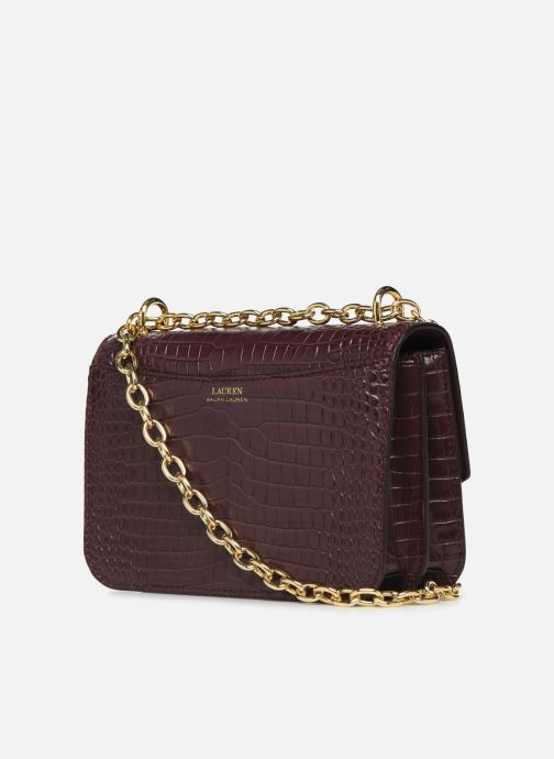 Sacs à main Lauren Ralph Lauren MADISON 22-CROSSBODY-MEDIUM Bordeaux vue droite