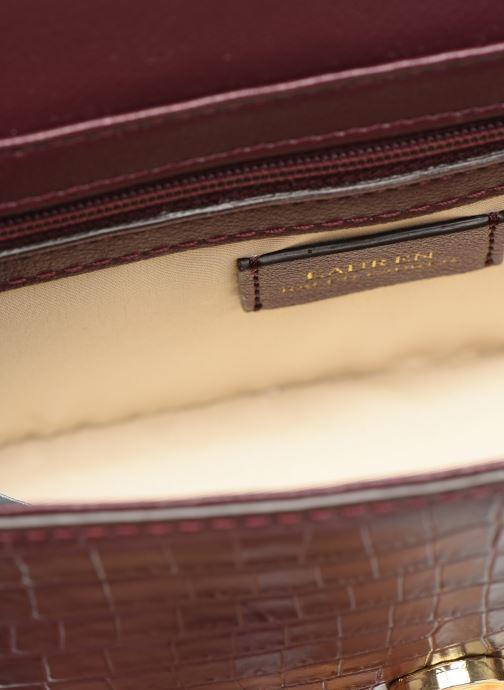 Handtaschen Lauren Ralph Lauren MADISON 22-CROSSBODY-MEDIUM weinrot ansicht von hinten