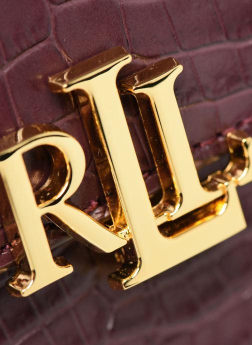 Handtaschen Lauren Ralph Lauren MADISON 22-CROSSBODY-MEDIUM weinrot ansicht von links
