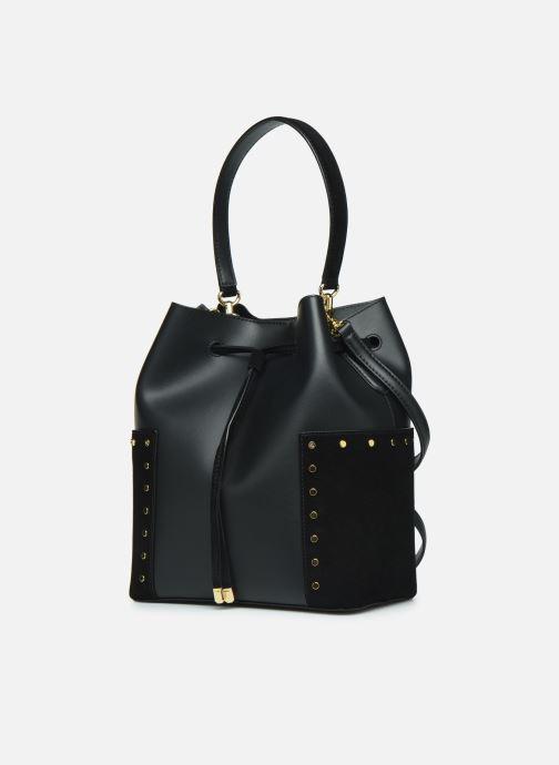 Handtassen Lauren Ralph Lauren DEBBY-DRAWSTRING-MEDIUM Zwart model