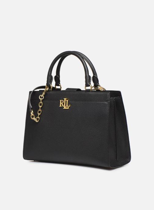 Handtassen Lauren Ralph Lauren LAINE 33-SATCHEL-MEDIUM Zwart model