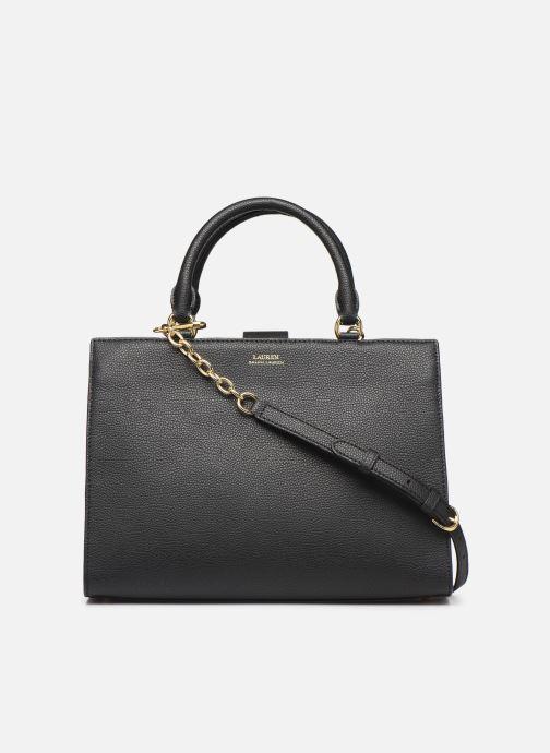 Handtassen Lauren Ralph Lauren LAINE 33-SATCHEL-MEDIUM Zwart voorkant