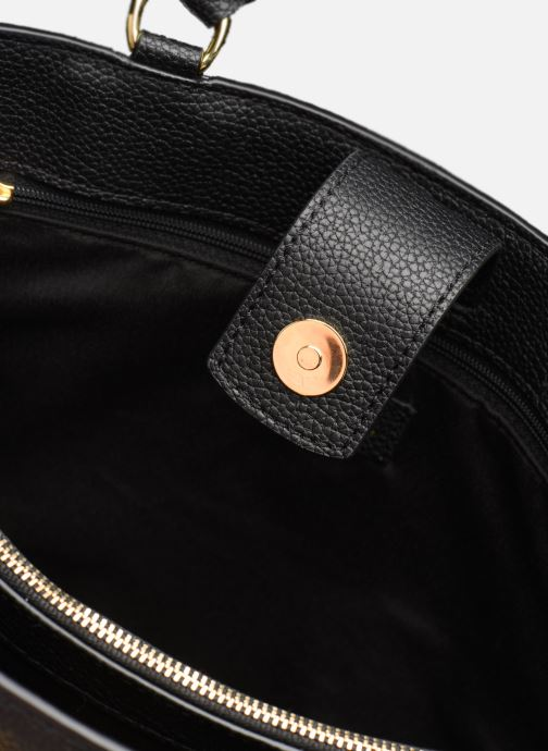 Handtassen Lauren Ralph Lauren LAINE 33-SATCHEL-MEDIUM Zwart achterkant