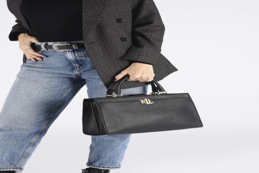 Handtassen Lauren Ralph Lauren LAINE 33-SATCHEL-MEDIUM Zwart onder