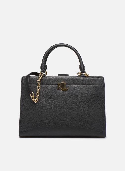 Handtassen Lauren Ralph Lauren LAINE 33-SATCHEL-MEDIUM Zwart detail