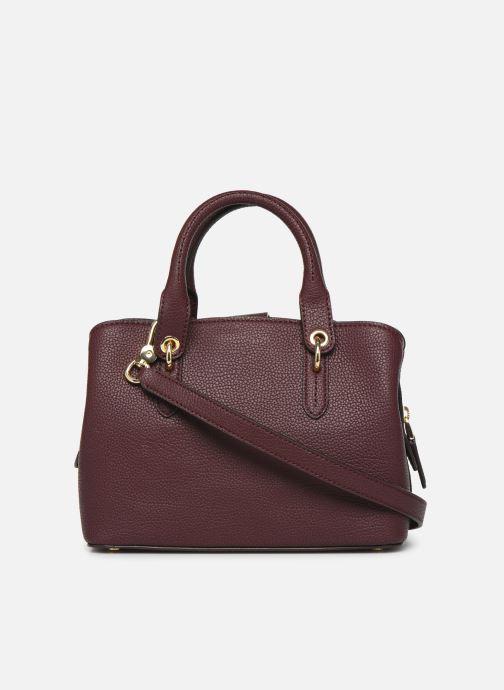 Handtaschen Lauren Ralph Lauren HAYWARD 23-SATCHEL-SMALL weinrot ansicht von vorne