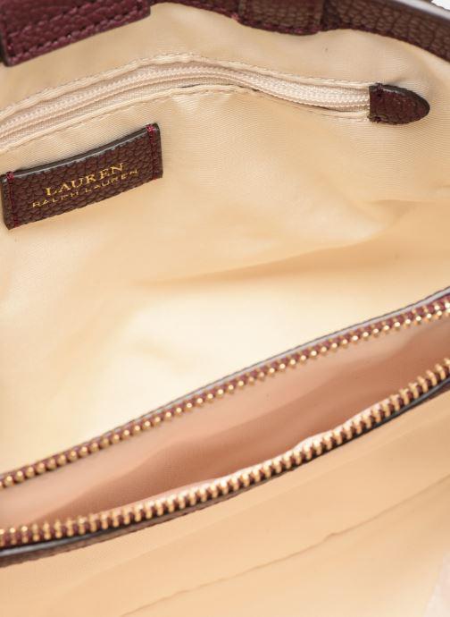 Handtaschen Lauren Ralph Lauren HAYWARD 23-SATCHEL-SMALL weinrot ansicht von hinten