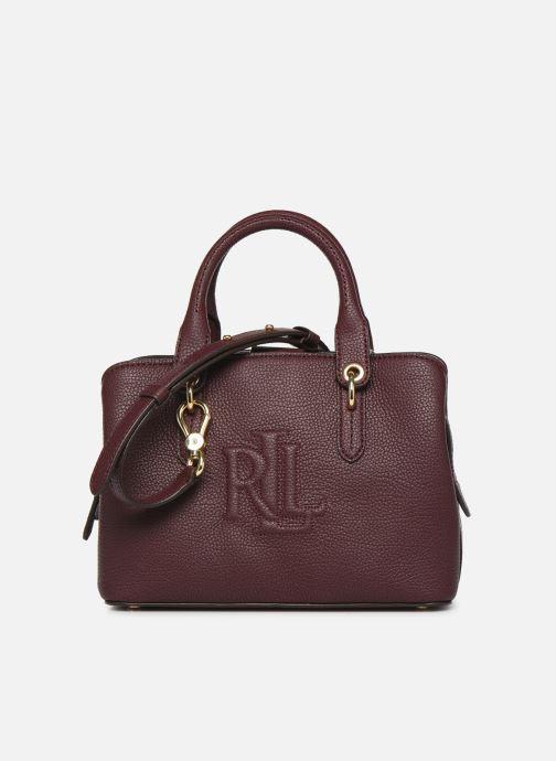 Sacs à main Lauren Ralph Lauren HAYWARD 23-SATCHEL-SMALL Bordeaux vue détail/paire