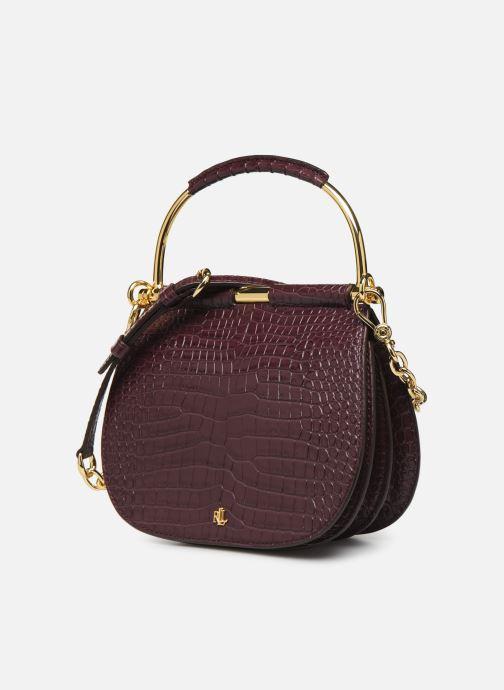 Handtassen Lauren Ralph Lauren MASON 20-SATCHEL-MINI Bordeaux model
