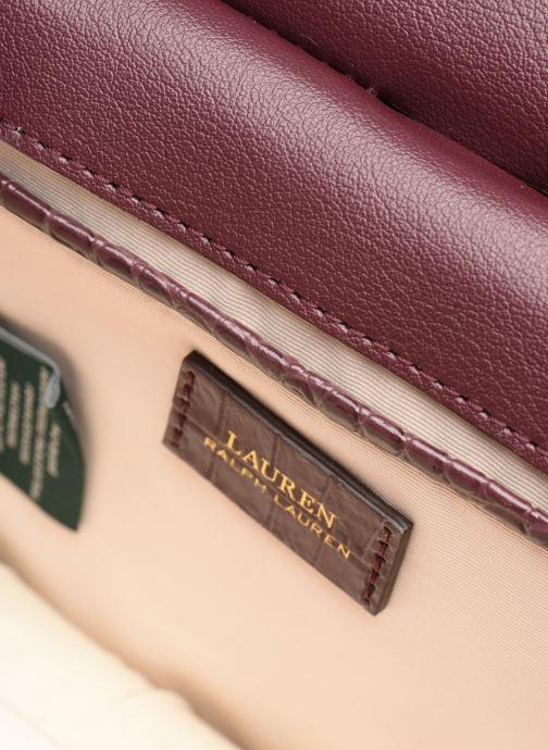 Handtassen Lauren Ralph Lauren MASON 20-SATCHEL-MINI Bordeaux achterkant