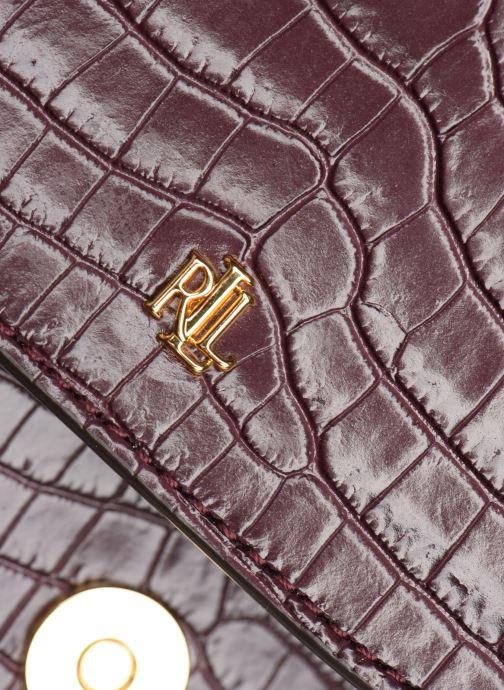 Handtassen Lauren Ralph Lauren MASON 20-SATCHEL-MINI Bordeaux links