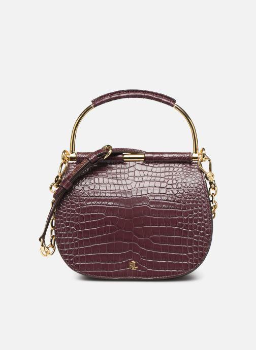 Handtassen Lauren Ralph Lauren MASON 20-SATCHEL-MINI Bordeaux detail