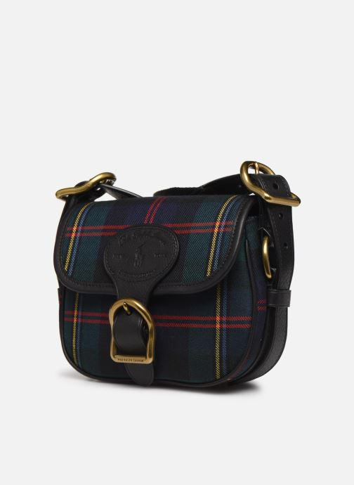 Sacs à main Polo Ralph Lauren SM HUTTON CROSSBODY SMALL Multicolore vue portées chaussures