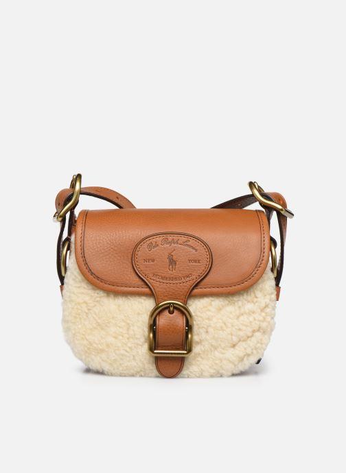 Handbags Polo Ralph Lauren SM HUTTON CROSSBODY SMALL Brown detailed view/ Pair view