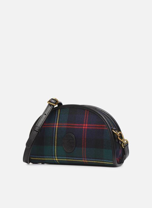 Sacs à main Polo Ralph Lauren HALF MOON XB-CROSSBODY SMALL Multicolore vue portées chaussures
