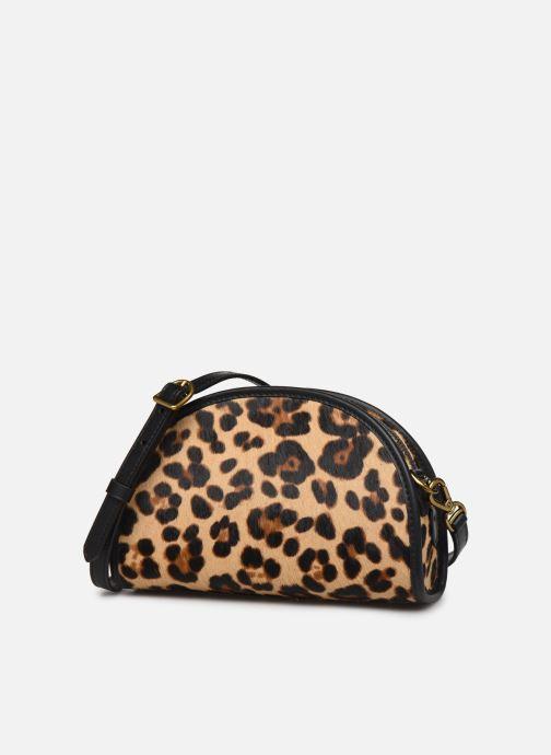 Handbags Polo Ralph Lauren HALF MOON XB-CROSSBODY SMALL Multicolor model view