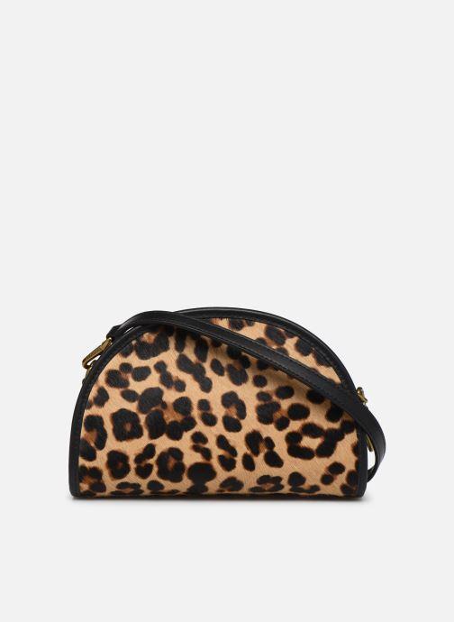 Handbags Polo Ralph Lauren HALF MOON XB-CROSSBODY SMALL Multicolor front view