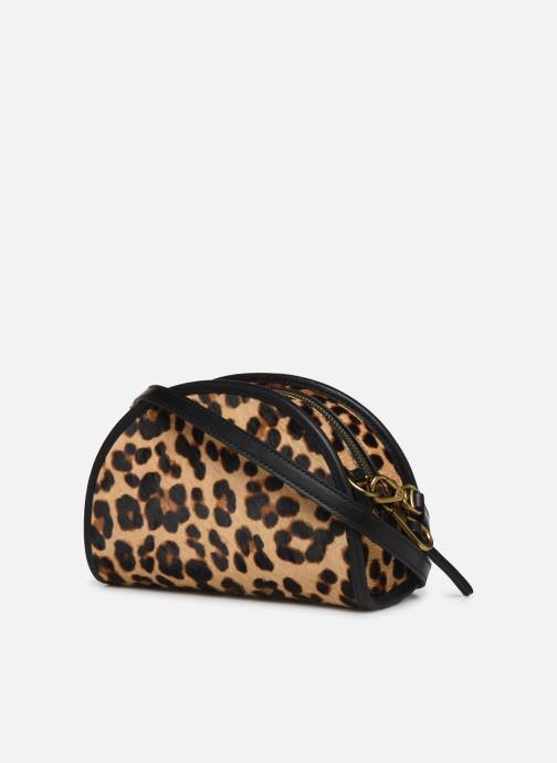Handbags Polo Ralph Lauren HALF MOON XB-CROSSBODY SMALL Multicolor view from the right