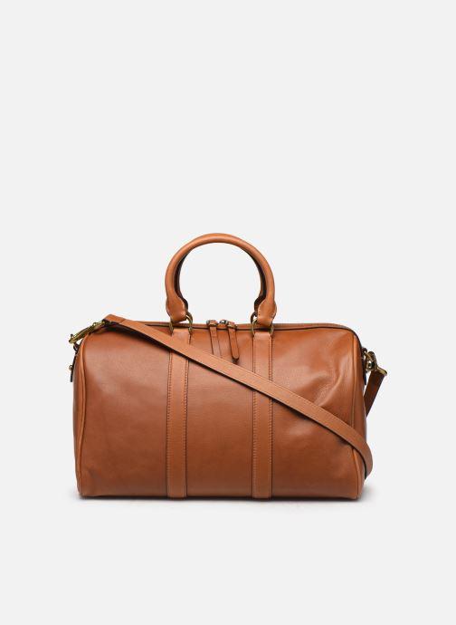 Bagages Polo Ralph Lauren SM DUFFLE SMALL Marron vue face