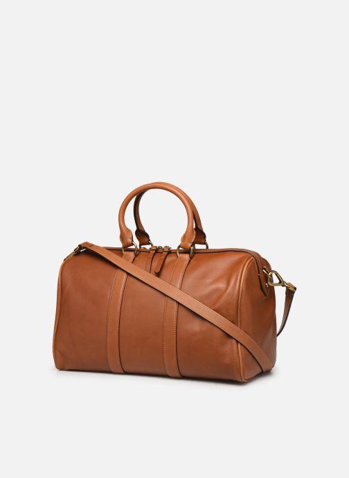 Bagages Polo Ralph Lauren SM DUFFLE SMALL Marron vue droite